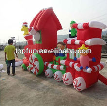 newest christmas inflatable train