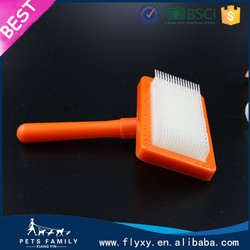 pet accessory fine pet products removable handle hair brush