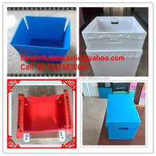 Collapsible plastic PP corrugated box for packing shipping storage