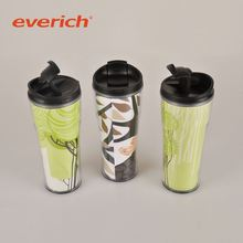 colorful rust-proof microwave safe plastic coffee mug