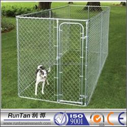 China manufacturer outdoor chain link dog run kennel