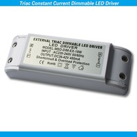 Constant current dimmable led power driver 450ma 18v switching power supply three years warranty