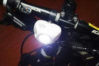 High power 800 lumen bicycle light strobe light on bike led bike head light