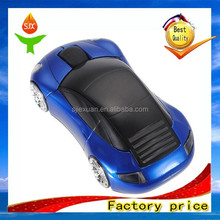 Fashion Sport Car shaped Wireless mouse optical 1600DPI 2.4Ghz computer mouse JX-M004