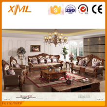 living room furniture classic sectional leather sofa
