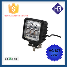 Car accessories 12V 27W IP68 spot/flood portable led work light Jeep Boat Off-road SUV