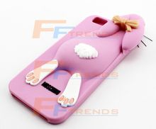 Best Phone cases mobile shell for iphone , Ultra Thin Shell Cover Case, Papa Rabbit Silicone Case for Apple 6