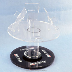 top quality high clear acrylic rotatable phones display stand factory price