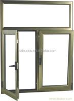 Powder Coating Aluminum Opening Inside French Casement Awning Window & NZ Fodoudou Aluminium Sliding Window