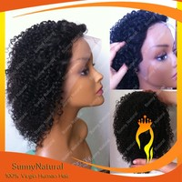 100% brazilian bob lace wig human hair curl natural color short bob lace front wig on hot-selling short bob wigs for black women
