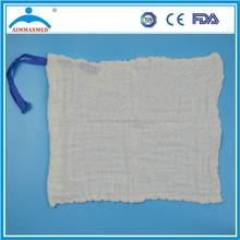 white /blue/green Hospital Hemostati Laboratory sponges gauze lap sponges
