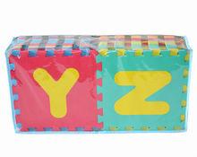 Atividade bebê / dormir tapete EVA tapete de espuma de bloqueio com número alfabeto frutas legumes