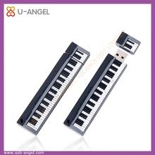 PVC piano shape usb flash drive 1gb bulk usb pen drive