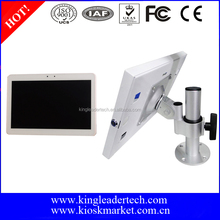 Desktop Rotatable Metal Kiosk Stand With 10.1 Inch Tablet