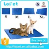 Re-usable non-toxic dog pad pet cooling mat/cooling pad/cooling gel pad