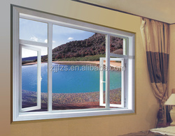 Aluminum outward opening windows for living room,pictures of aluminum windows