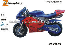 CE Certification gas powered super pocket bike for sale cheap