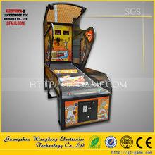Luxury street basketball arcade game machine, Indoor adult arcade hoops cabinet basketball shotting game