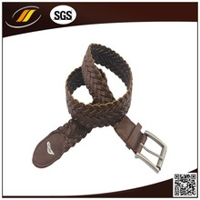 Casual generally leather braided belts for women
