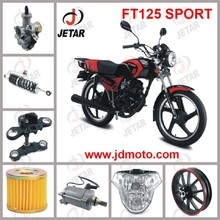 FT125 SPORT motorcycle spare part Front Wheel & Front Hub & Rim & Tire & Shoe Brake