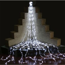 3*3M 300 LED Waterfall Digital Lights Christmas Decorative Lights String Lights for Holiday Festival Decoration