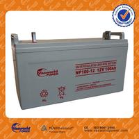 HOT Sale best quality Chinese sealed lead acid maintenance free 48v 24v 12v 100ah solar battery for solar ups telecom