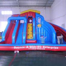 dry/ water slides , ZY-WS1264 inflatable water slide castle