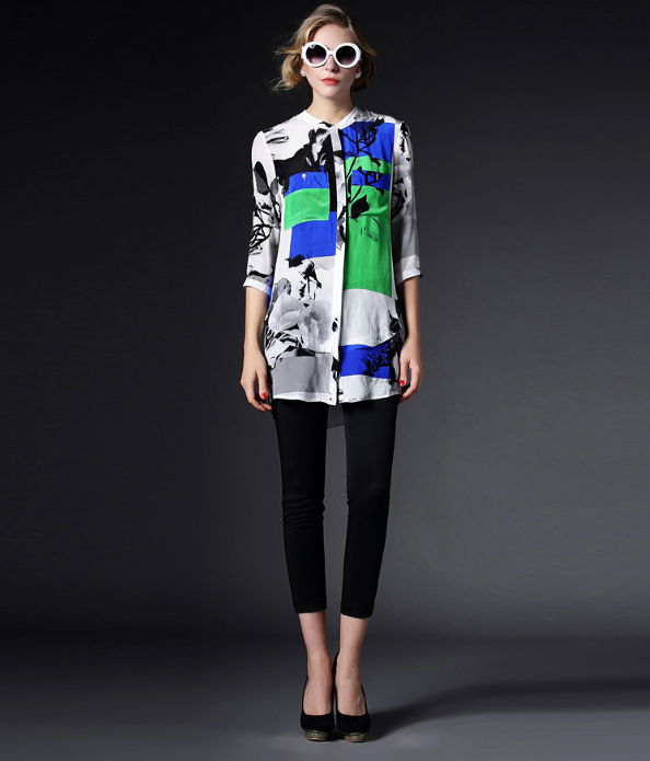 блузки мода 2015 весна лето для женщин фото