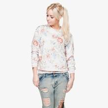 delle donne felpa con cappuccio qualità 3d stampa digitale fullprint felpa girocollo primavera autunno pullover unisex su misura di grandi dimensioni
