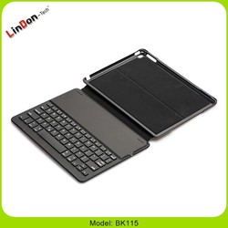 3 in 1 Leather PC Keyboard Case for iPad Air 2 2014 Version