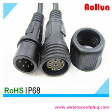 Hot sale M19 Male Female Electrical Power 8 pin IP68 Waterproof Cable Connector