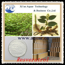 Special Supplied 80% Natural Water-soluble Trans-Resveratrol anti-aging 50% 98% free sample