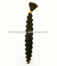 negro de pelo rizado a granel rizado virgen de la rosa de pelo productos para el cabello