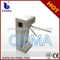 made in china manual vertical access control tripod turnstile