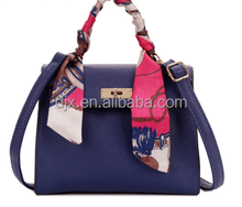 Newest fashion female models desgn genuine leather handbag for ladies made in china