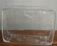 clear laundry pvc cloth stock bag for hotel
