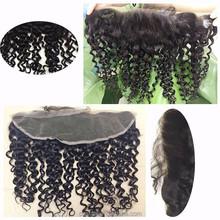 Raw unprocessed 100% silk top closure pieces for black women