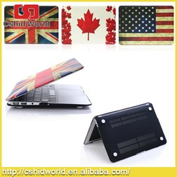 Fashion British Flag Pattern PC Hard Cover Laptop Case For Macbook Air