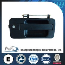 Handle outside for MB Actros Mega MP1 truck parts 9417600459/9417600559,plastic door handle with lock cylinder