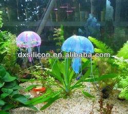 silicone jellyfish for sale,jellyfish for Aquarium,aquarium decoration
