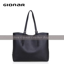 Top quality brand leather handbag famous women bag 2015