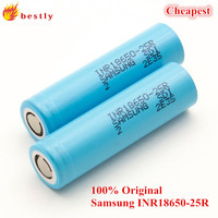 2015 Best selling & Wholesale Authentic green Samsung 25R 18650 samsung inr18650-25r 2500mah and se us18650vt battery