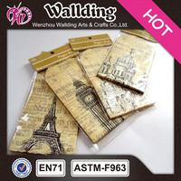 High Quality printing building fancy paper vintage envelope