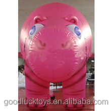 inflatable peppa pig PVC material for event
