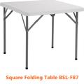 87cm mesa cuadrada de molde de soplado mesa plegable