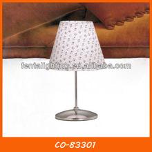Simple tela moderna mesa de estilo americano co-83301 de la <span class=keywords><strong>lámpara</strong></span>