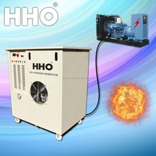 Oxy hydrogen generator used in diesel generators