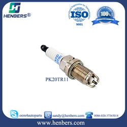 wholesale Japanese car parts for Denso Platinum spark plug PK20TR11 fit for Toyota car OEM: 90919-01194
