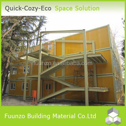 Ecological Sandwich Panel Movable Equipped Office Container