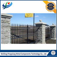 High quality aluminum used fence panel for sale with cheaper price made in china